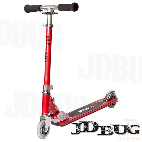 JD BUG Original Street Scooter - Red Glow