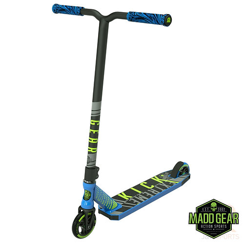 MADD Kick EXTREME V4 Scooter - Blue/Lime