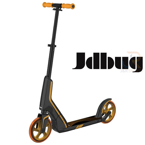 JD BUG PRO Commute 185 Scooter - Black/Gold