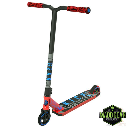 MADD Kick EXTREME V4 Scooter - Red/Blue