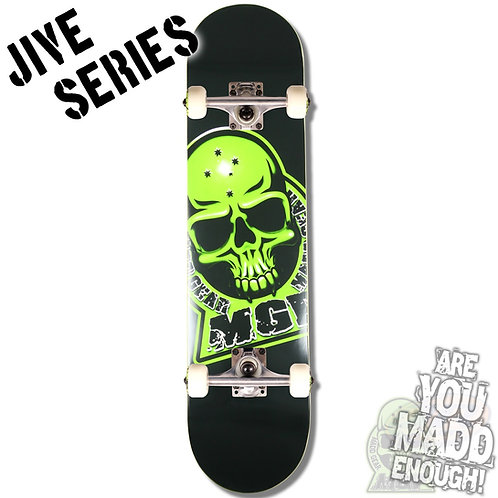 Madd Jive Sk8Board - Branded Black