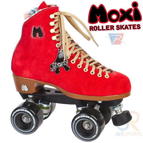 Moxi Lolly Roller Skates - Poppy Red