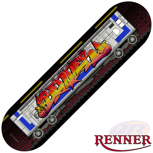 RENNER B Series Skateboards - Graffite on the Tube