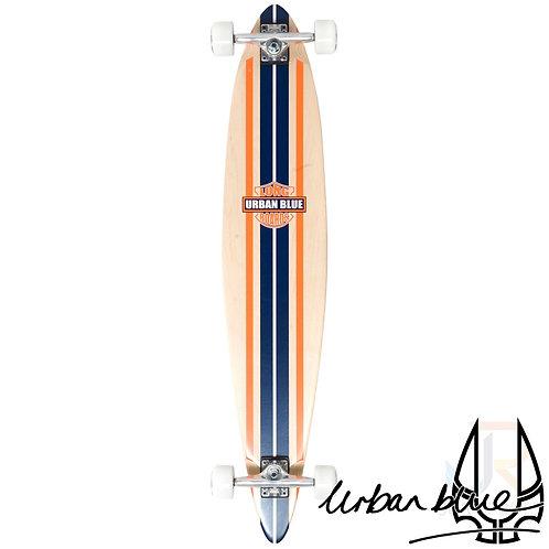"Urban Blue - 44½"" Pintail Longboard - Son of David"