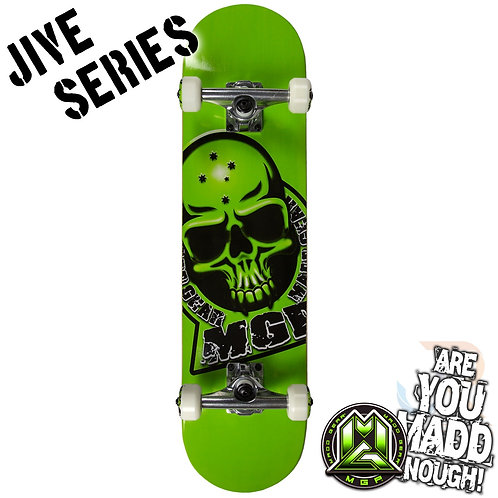 Madd Jive Sk8Board - Branded Green