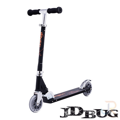 JD BUG Classic Street 120 Scooter - Matt Black
