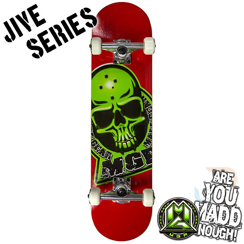Madd Jive Sk8Board - Branded Red