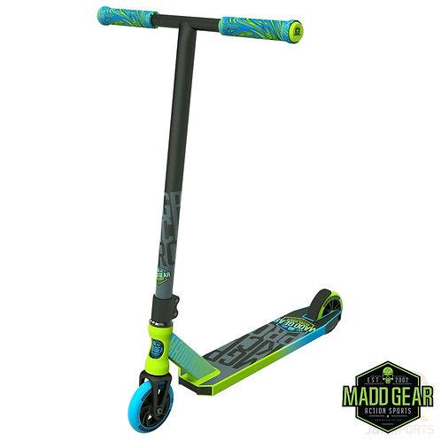 Madd Kick PRO V4 Scooter - Lime/Blue
