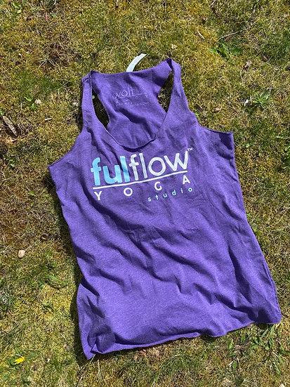 Ful Flow Racerback Tank - Purple