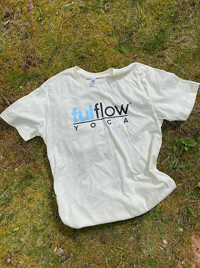 Ful Flow Yoga Graphic Tee - Natural