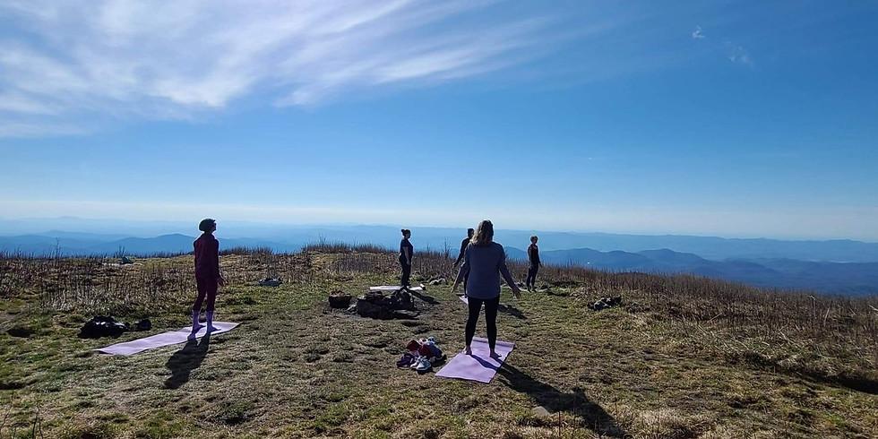 Full Moon Yoga Hike to Black Balsam Knob