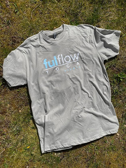 Ful Flow Yoga Graphic Tee - Slate Gray