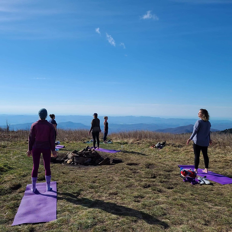 Permission to Pause: Outdoor Yoga  Retreat