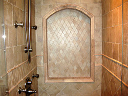 Marble with Mosaic Niche