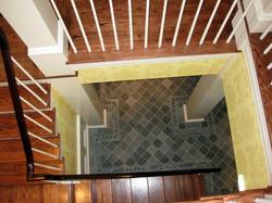 Custom Slate Floor & Border