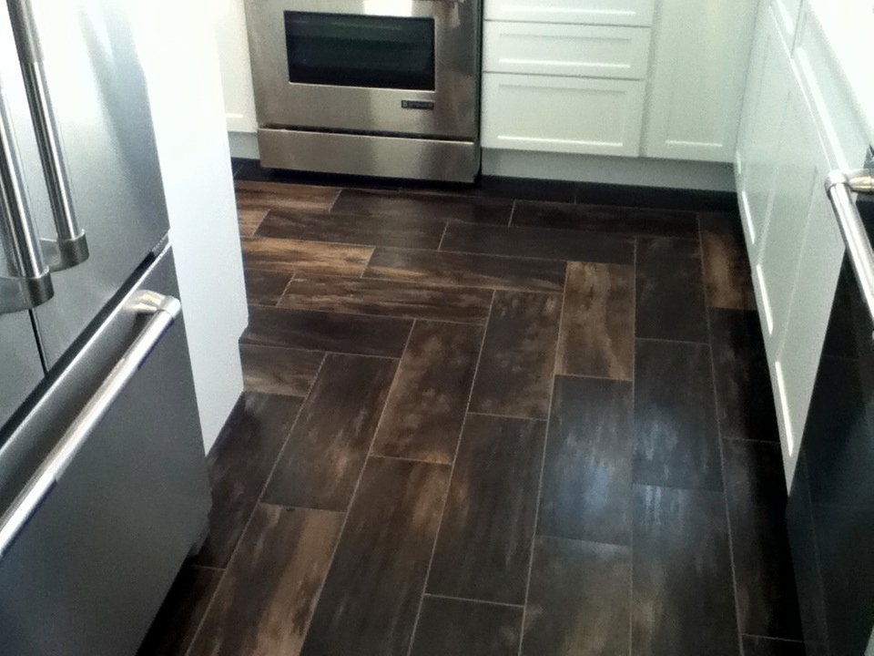 Porcelain Tile Floor