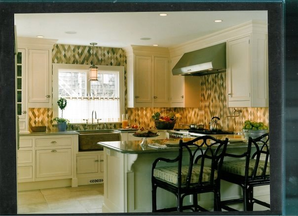 Mosaic Marble Kitchen Splash