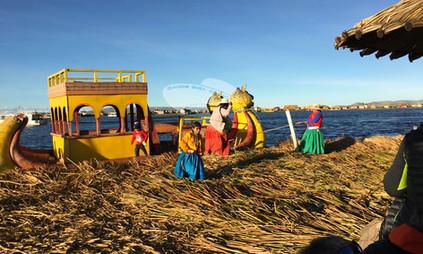 Isole Flottanti, Lago Titicaca