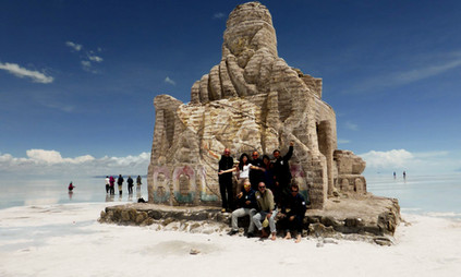 Monumento Rally Dakar, Salar de Uyuni