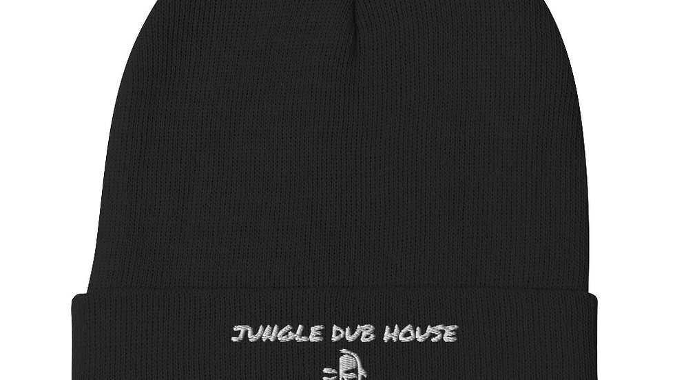 JUNGLE DUB HOUSE JUNGLIST Embroidered Beanie