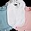 Baby Latz Geschenk in diversen Farben, blauer, weißer und rosa Babylatz, tolles Babygeschenk zur Geburt