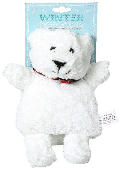 Eisbaer Waermekissen, Baby Geschenk, Kinder Geschenk, Weihnachtsgeschenk, Winter, Schnee, Plüschtier, Eis, Bär, weiss,