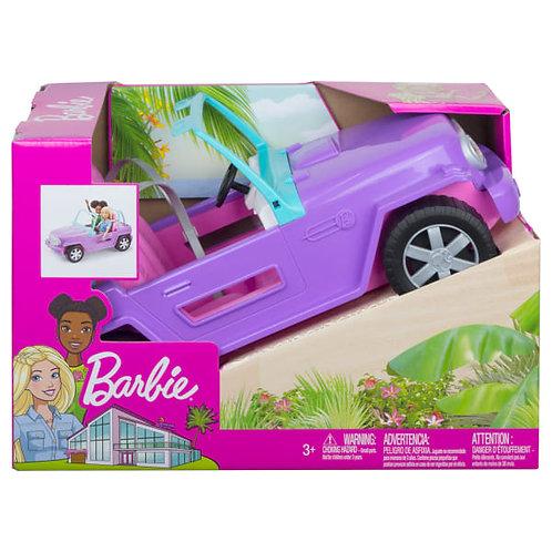 Barbie Beach Jeep, Barbie Fahrzeug, Barbie Auto lila, Barbie Spielzeug fuer Maedchen