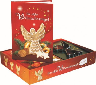 Ein suesser Engel, Ausstechform, Backen, Geschenkbuch, Weihnachten