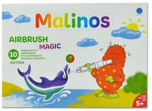 Malinos Airbrush Stife Magic, Airbrushstifte, Stifte fuer Kinder ab 5 Jahre