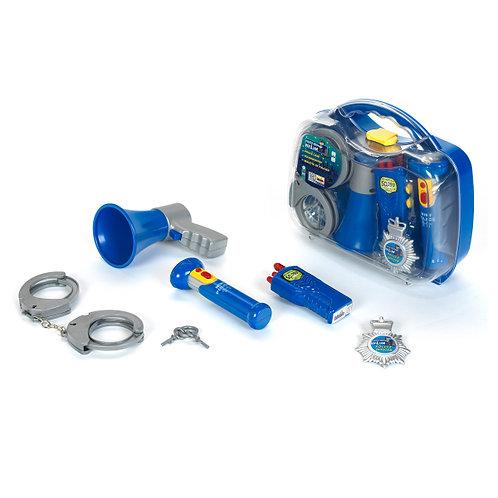 Polizeikoffer von Klein, Spielkoffer fuer Kinder, Rollenspiel Polizei, Spiel Koffer Polizei, Polizei Spielsachen