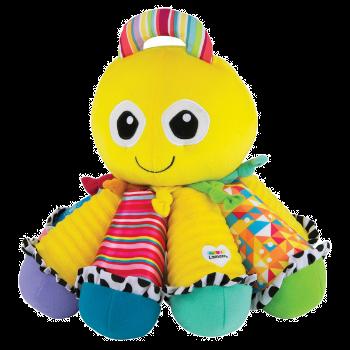 Lamaze Song-Krake, Baby Spielzeug, Geschenk zur Geburt, Spielzeug Tintenfisch, Musik Spielzeug für Babys, Plüschtier Baby