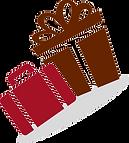Valise cadeau, cadeau, boutique de cadeaux, valise, anniversaire, cadeau pour toute occasion, logo
