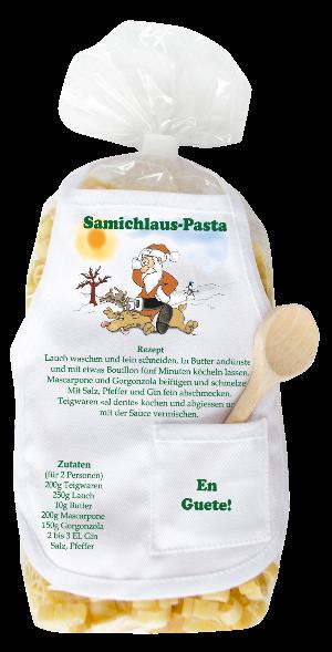 Samichlaus-Pasta, Geschenk zum Samichlaustag, Nikolaus Geschenk, Teigwaren mit Engelform, Weihnachtsgeschenk, Nudeln