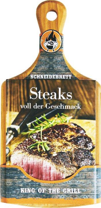 Steak, Geschmack, Fleisch, Grill, Schneidebrett, Holzbrett, Buch, Geschenk, Rezept