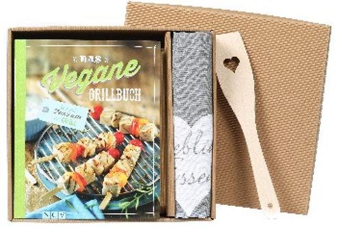 Grillbuch, Rezepte, Vegan, Vegane-Rezepte, Buch, Geschenk, Schachtel, Box, Set,