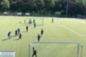 Tag 1 im Fußballcamp Geisenheim 💪_#fußb