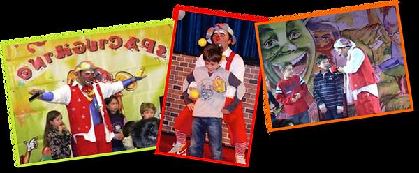 spaciughino, clown, spettacolo per bambini, magia, lerry, animazione, giocoleria