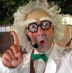 magia, spettacolo, lerry potter, palloncini, festa per bambini, illusioni e cabaret, scienziato pazzo, frankostuffen