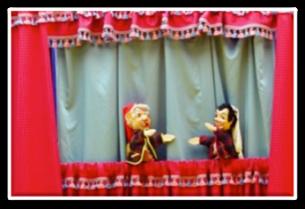burattini, lerry, spettacolo per bambini, fiabe, teatrino, mappet show