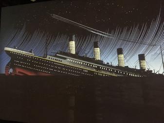 The ship was fine when it left Belfast..