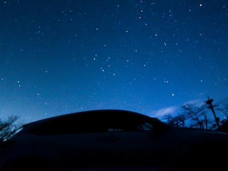 伊豆高原の星空