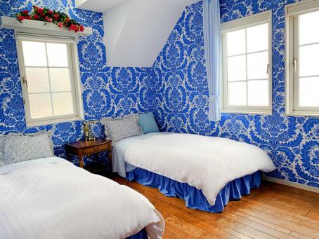 207号室の改装 海をテーマにした客室