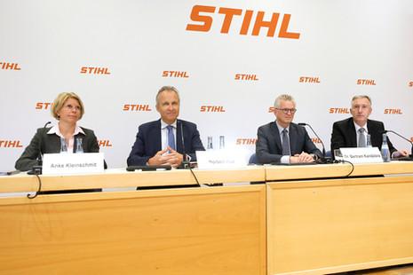 Ergebnisse der Stihl Pressekonferenz