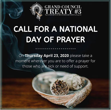 Call for a National Day of Prayer – April 23, 2020