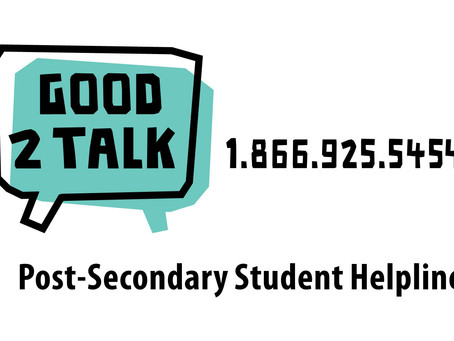 Good2Talk – Support for Post-Secondary Students during COVID-19
