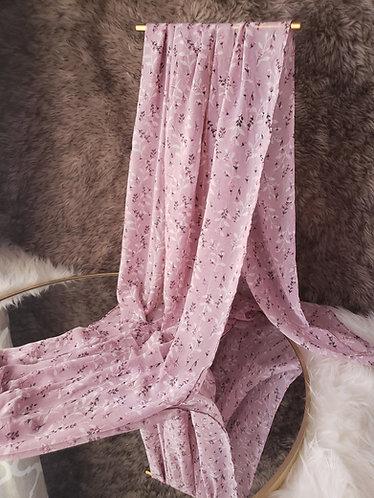 Lavender Field Chiffon Hijab