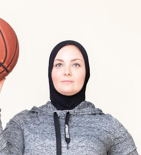 Black Asfurah Action Sport Hijab