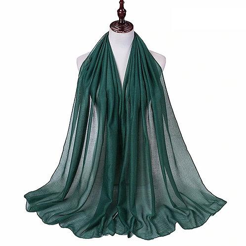 Forest Green Viscose Hijab