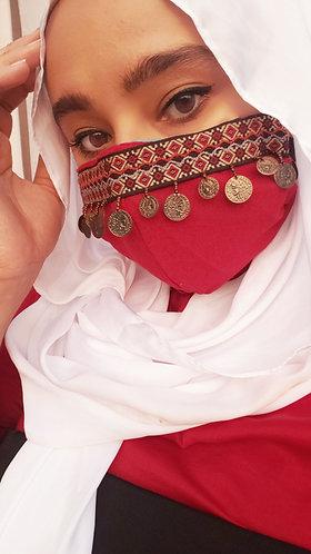 Arabian Coin Mask