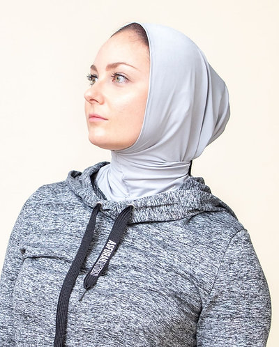 Grey Asfurah Action Sport Hijab